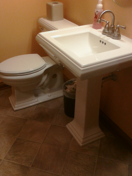 Upgrade Bathroom Sink