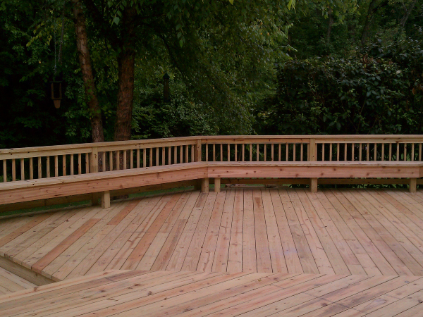 Decks with Setting Areas