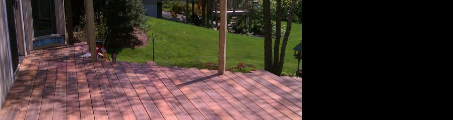deck installation projects by berger building services